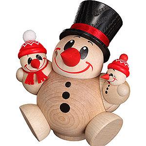 Räuchermänner Schneemänner Räuchermännchen Cool Man Trio - Kugelräucherfigur - 12 cm