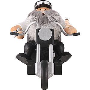 Räuchermänner Hobbies Räuchermännchen Easy Rider - 19 cm
