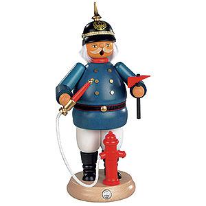 Räuchermänner Berufe Räuchermännchen Historischer Feuerwehrmann - 25 cm