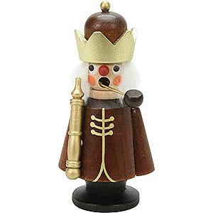 Räuchermänner Sonstige Figuren Räuchermännchen König natur - 10,0 cm
