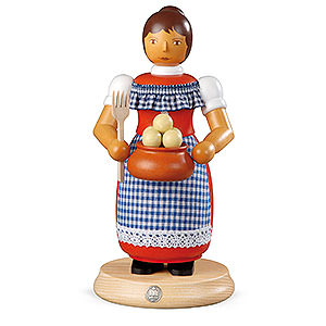 Räuchermänner Sonstige Figuren Räuchermännchen Kloßfrau - 24 cm