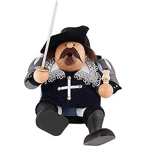 Räuchermänner Bekannte Personen Räuchermännchen Musketier Porthos - Kantenhocker - 16 cm