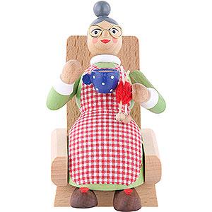 Räuchermänner Sonstige Figuren Räuchermännchen Oma - 13 cm