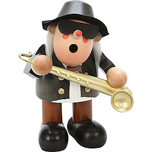 Räuchermänner Berufe Räuchermännchen Saxophonspieler - 16,5 cm
