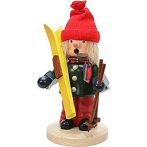 Räuchermänner Hobbies Räuchermännchen Skifahrer - 21,0 cm