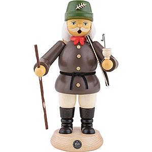 Räuchermänner Berufe Räuchermännchen Waldarbeiter - grau - 23 cm