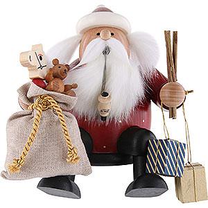 Räuchermänner Weihnachtsmänner Räuchermännchen Weihnachtsmann - Kantenhocker - 16 cm