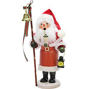 Räuchermänner Weihnachtsmänner Räuchermännchen Weihnachtsmann mit Laterne - 30,5 cm