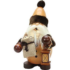 Räuchermänner Weihnachtsmänner Räuchermännchen Weihnachtsmann natur - 22 cm
