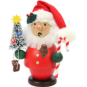 Räuchermänner Weihnachtsmänner Räuchermännchen Weihnachtsmann rot - 13 cm