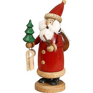 Räuchermänner Weihnachtsmänner Räuchermännchen Weihnachtsmann rot, klein - 17 cm