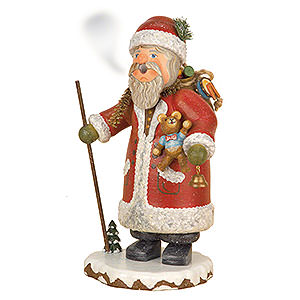 Räuchermänner Weihnachtsmänner Räuchermännchen Winterkinder Weihnachtsmann - 20 cm