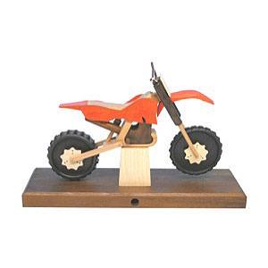 Räuchermänner Hobbies Räuchermotorrad Cross 27x18x8 cm