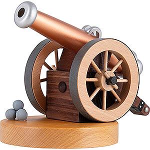 Räuchermänner Sonstige Figuren Räucherobjekt Historische Kanone - 12 cm