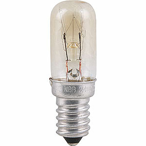 World of Light Spare bulbs Radio Tube Lamp - E14 Socket - 230V/15W