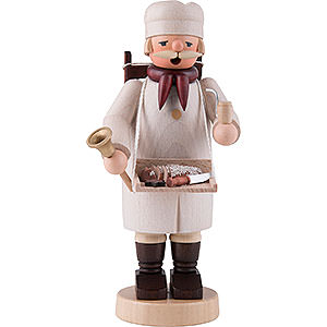 Räuchermänner Berufe Räuchermännchen Bäcker - 20cm
