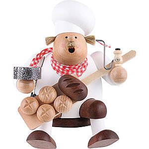 Räuchermänner Berufe Räuchermännchen Bäcker - Kantenhocker - 17 cm