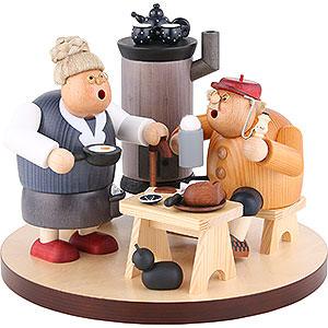 Räuchermänner Sonstige Figuren Räuchermännchen Bauernstube 3-teilig - 22 cm