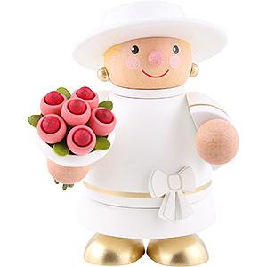 Räuchermänner Sonstige Figuren Räuchermännchen Braut (ohne Rauchfunktion) - 10 cm