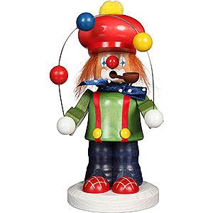 Räuchermänner Berufe Räuchermännchen Clown - 19,5 cm