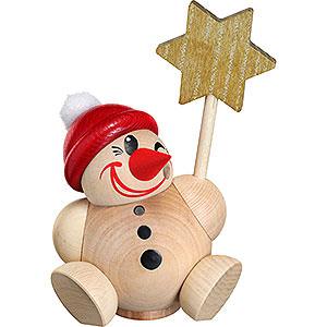 Räuchermänner Seiffener Kugelfiguren Räuchermännchen Cool Man vario mit roter Mütze - Kugelräucherfigur - 11 cm