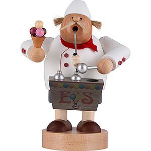 Räuchermänner Berufe Räuchermännchen Eisverkäufer - 20 cm