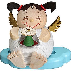 Räuchermänner Sonstige Figuren Räuchermännchen Engel mit Erzgebirgspyramide - Kugelräucherfigur - 10 cm