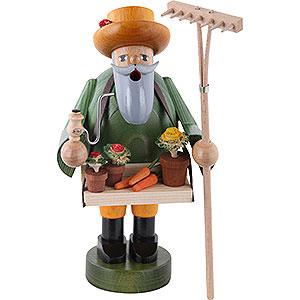 Räuchermänner Berufe Räuchermännchen Gärtner - 18 cm