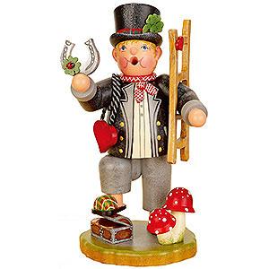 Räuchermänner Sonstige Figuren Räuchermännchen Glücksbringer - 21 cm