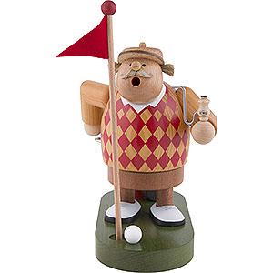 Räuchermänner Hobbies Räuchermännchen Golfer - 19 cm