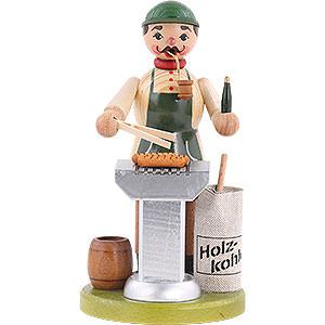 Räuchermänner Hobbies Räuchermännchen Grillmeister - 18 cm