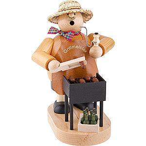 Räuchermänner Hobbies Räuchermännchen Grillmeister - 21 cm