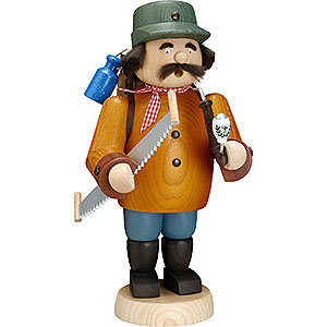 Räuchermänner Berufe Räuchermännchen Holzmacher - 30 cm