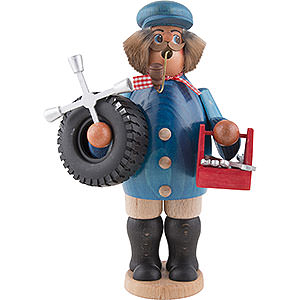 Räuchermänner Berufe Räuchermännchen KFZ-Schlosser - Automechaniker - 22 cm