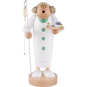 Räuchermänner Berufe Räuchermännchen Krankenschwester - 24 cm