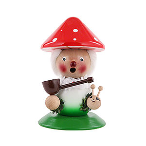 Räuchermänner Sonstige Figuren Räuchermännchen Lucky Mushroom - 25 cm