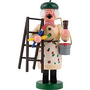 Räuchermänner Berufe Räuchermännchen Maler - 18 cm