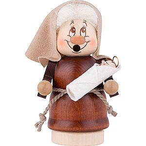 Räuchermänner Bekannte Personen Räuchermännchen Miniwichtel Maria - 12,5 cm