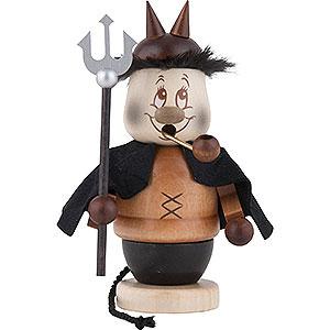 Räuchermänner Sonstige Figuren Räuchermännchen Miniwichtel Teufel - 13,5 cm