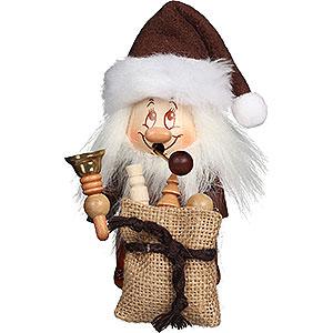 Räuchermänner Weihnachtsmänner Räuchermännchen Miniwichtel Weihnachtsmann mit Glocke - 15,5 cm
