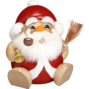 Räuchermänner Weihnachtsmänner Räuchermännchen Nikolaus - Kugelräucherfigur - 18 cm