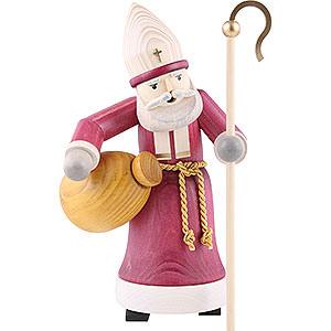 Räuchermänner Weihnachtsmänner Räuchermännchen Nikolaus gebeizt - 28 cm