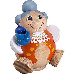 Räuchermänner Sonstige Figuren Räuchermännchen Oma Lustig - Kugelräucherfigur - 11 cm