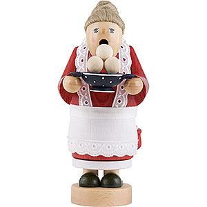 Räuchermänner Sonstige Figuren Räuchermännchen Oma mit Klößen - 17 cm