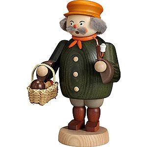 Räuchermänner Hobbies Räuchermännchen Pilzsammler - 19 cm