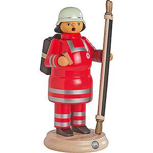Räuchermänner Berufe Räuchermännchen Rotkreuz-Sanitäter mit Trage - 24 cm