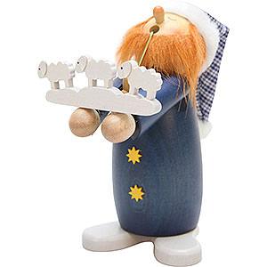 Räuchermänner Sonstige Figuren Räuchermännchen Schlafmütze Schäfchenzähler - 17,5 cm