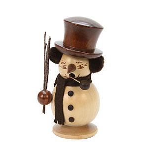 Räuchermänner Schneemänner Räuchermännchen Schneebub natur - 10,0 cm