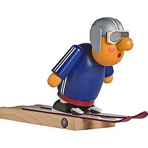 Räuchermänner Berufe Räuchermännchen Skispringer - 16 cm