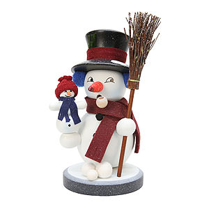 Räuchermänner Schneemänner Räuchermännchen Snowy - 22,5 cm